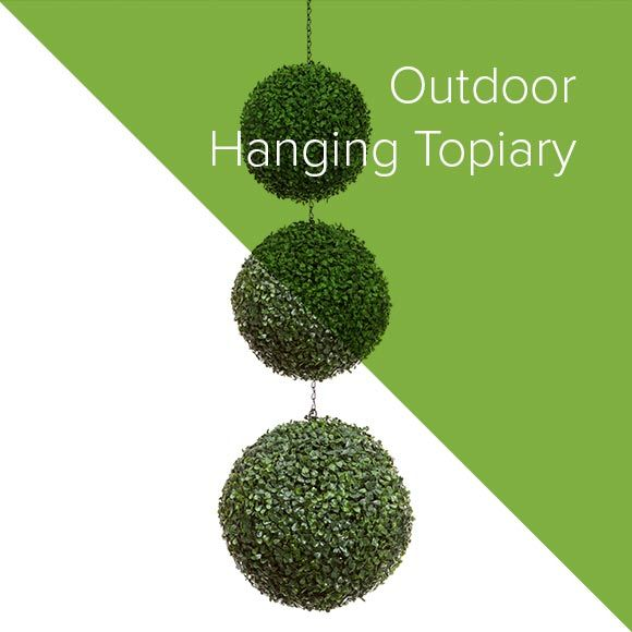 Outdoor Hanging Topiary