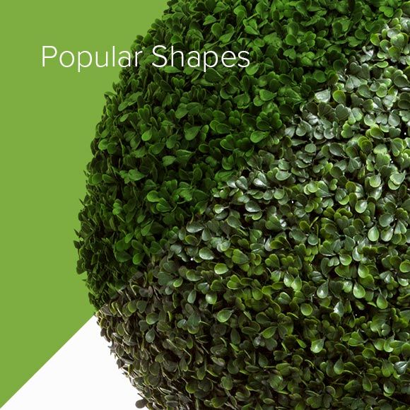 Popular Shapes for Topiaries