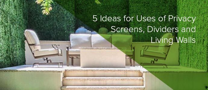 ideas for deck privacy screens