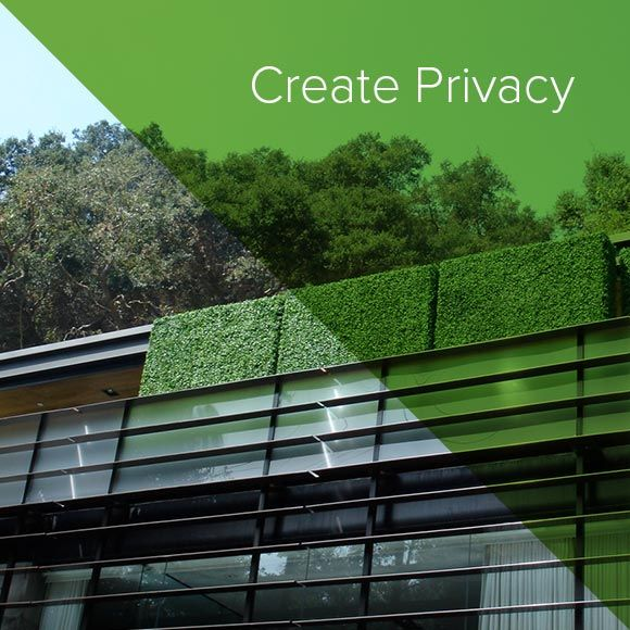 Create Privacy on your Balcony